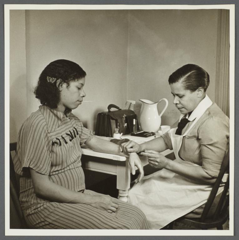 Moton Health Center Album -- Prenatal Care and Instruction