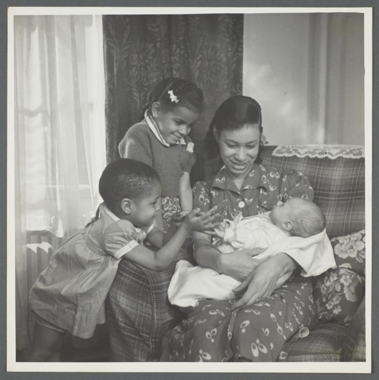 Moton Health Center Album -- Taking His Place in Family