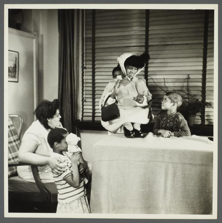 Lenox Hill, 1948-1949 Album -- Children Playing