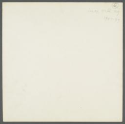 Lenox Hill, 1948-1949 Album -- Painting Paper Bags