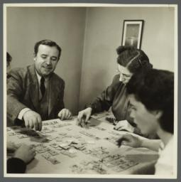 Lenox Hill, 1948-1949 Album -- Playing Word Game