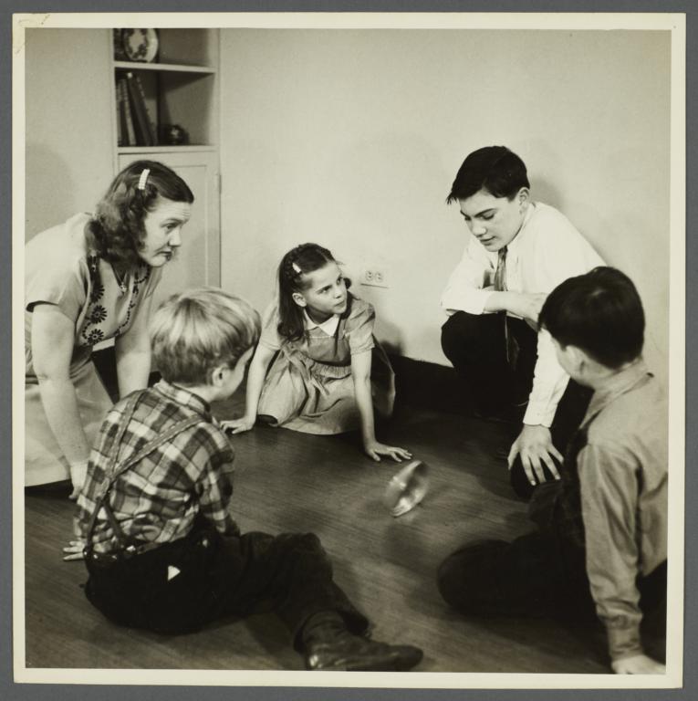 Lenox Hill, 1948-1949 Album -- Playing on Floor