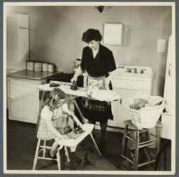Lenox Hill, 1948-1949 Album -- Ironing