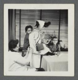 Lenox Hill, 1948-1949 Album -- Playing On Table