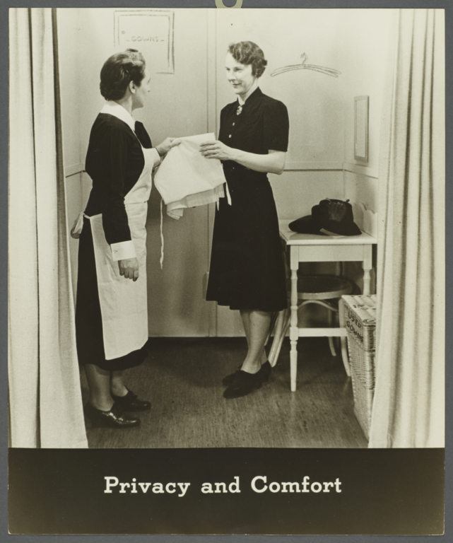 Women's Health Examination Portfolio -- Privacy and Comfort