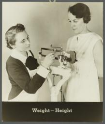 Women's Health Examination Portfolio -- Weight - Height