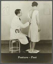 Women's Health Examination Portfolio -- Posture-Feet