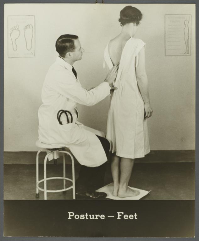 Women's Health Examination Portfolio -- Posture-Feet