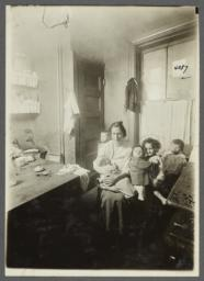 Nursing Mother with Children