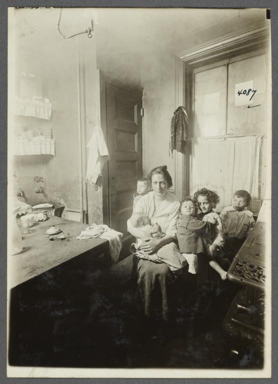Nursing Mother with Children