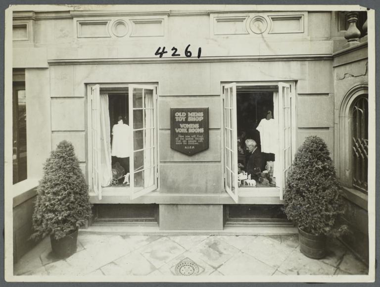 Old Men's Toy Shop and Women's Work Rooms Album -- Old Men's Toy Shop