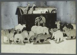 Old Men Toy Shop Album -- Noah's Ark Means Fun For the Kiddies