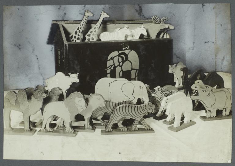 Old Men Toy Shop Album -- Noah's Ark Means Fun For the Kiddies