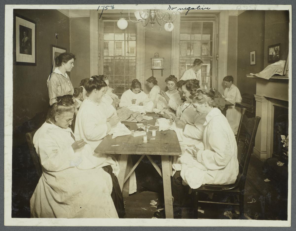 Women's Work Rooms Album--Women's Work Shops