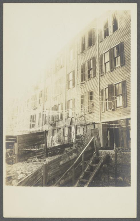 Tenement Fire in Bronx